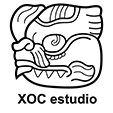 XOC Estudio - Logotipo B/N